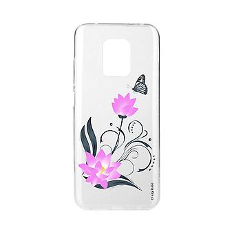 Scafo per Xiaomi Redmi Note 9 Pro Soft Lotus Flower And Butterfly