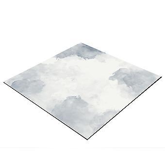 BRESSER Flatlay Hintergrund für Legebilder 40x40cm graue Wolken