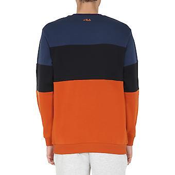 Fila 681255a817 Men's Multicolor Cotton Sweatshirt