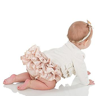 juDanzy Ruffle Chiffon or Satin Tutu All Around Bloomer Diaper Cover (6-24 Mo...