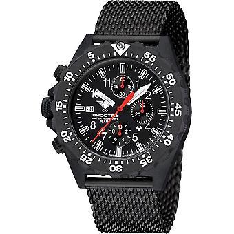 KHS - שעון גברים - היורה MKII הכרונוגרף רשת רצועה- KHS. ש-2קוט . Mb (Mb)