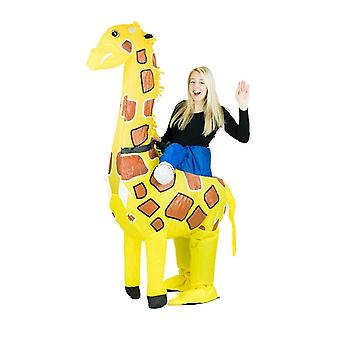 Inflatable Giraffe Halloween Costume One Size Fits All