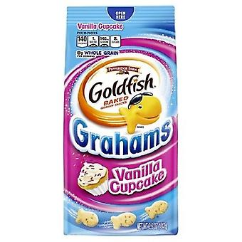 Pepperidge Farm Grahams vanille Cupcake goudvis gebakken Snack Crackers