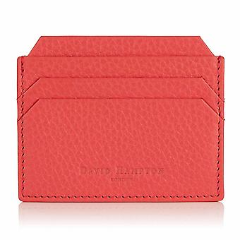 Jaipur Pink Richmond Leather Slim Six Card Holder
