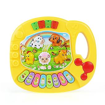 2 types Farm Animal Sound Kids Piano Music Toy - Musical Animals Sounding