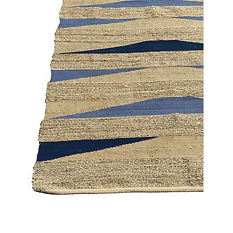 Spura Home Oriental Beach Jute Brown Area tapete para sala 8x10, 5x8