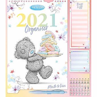 Otter House 2021 Wall Calendar-me To You Organiser