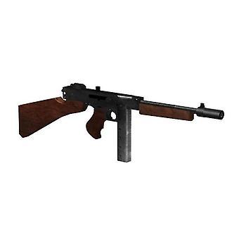 1:1 Thompson M1928 Gun, 3d Paper Card - Model Building Sets Toy
