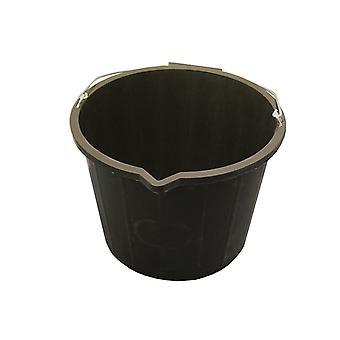 Faithfull 3 galón 14 litrový vedro - čierna FAI3GBUCKET