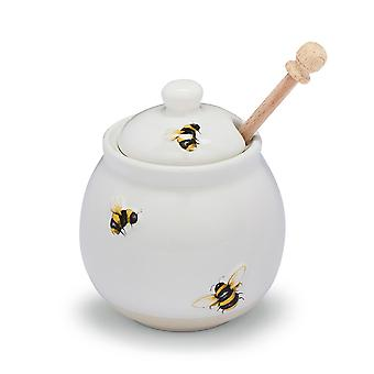 Cooksmart Bumble Bees Honey Pot