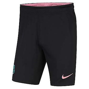 2020-2021 Barcelona Derde Nike Voetbalshort Zwart (Kinderen)
