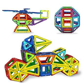 Mini modello di costruzione di designer magnetico e giocattoli per blocchi di costruzione