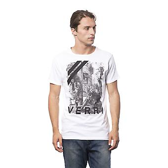 Verri Men's Bianco T-Shirt VE686065