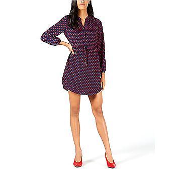 Maison Jules | Heart-Print Fit & Flare Dress