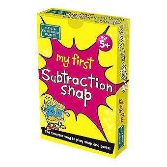 My First Subtraction Snap Card Game CDU (10 Units)
