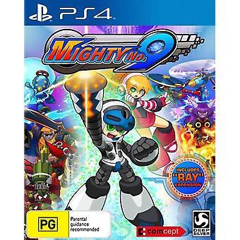 Mighty No 9 PS4 Game (OZ Box)
