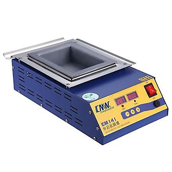 Square High Temperature Lead Free Soudering Pot Titanium Solder Furnace Tin