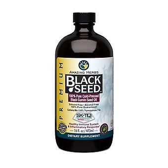 مدهش الأعشاب زيت البذور السوداء، 16 أوقية