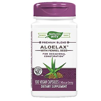 Nature's Way AloeLax, 100 Caps