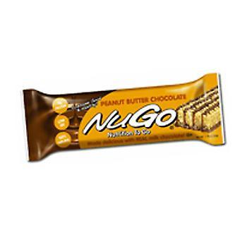 Nugo Nutrition Bar NuGO Family Nutrition Bar, Peanut Butter Chocolate 1.76 oz