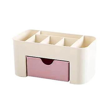 プラスチック収納ボックスメイクアップオーガナイザー - 化粧品ディスプレイ引き出し