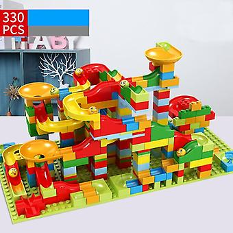 Marble Race Run, Big Block Compatible Funnel Slide Blocks Jouets