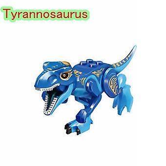 Jurassic Dinosaur Park,  Rex Blocks Tyrannosaurus Tiny Models Building Kids