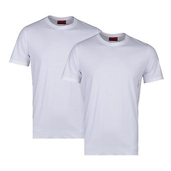 HUGO 2 kpl valkoinen Crew Neck T-paidat
