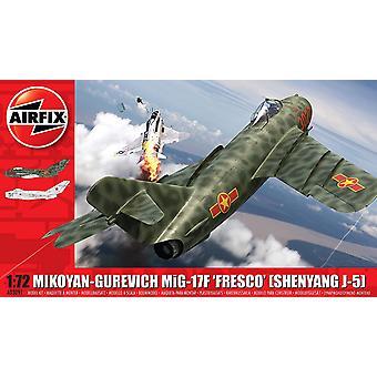 Airfix Mikoyan-Gurevič Mig-17 Freska (listopad 2019)