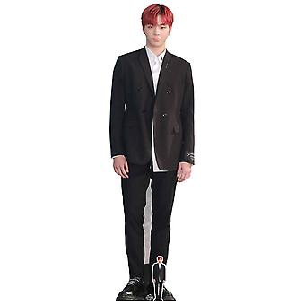 Kang Daniel Red Hair Celebrity Lifesize Cardboard Cutout / Standup