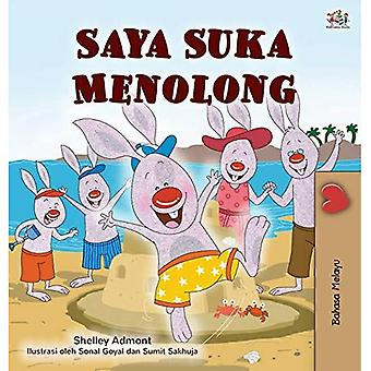 I Love to Help (Malay Children's Book) (Malay Bedtime Collection)