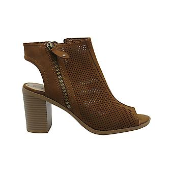American Rag Womens Chasity Leather Open Toe Ankle Fashion Boots