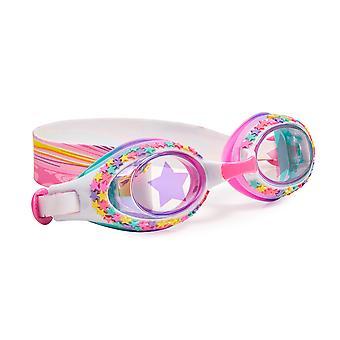 Flickor flerfärg traditionella formade stjärnor kul simglasögon