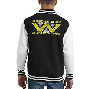 Alien Weyland Yutani Corporation Better Worlds Kid's Varsity Takki