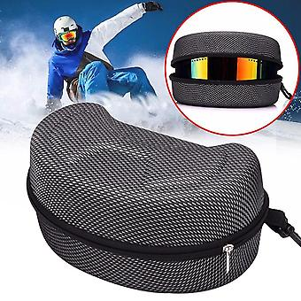 Protection And Carrying Zipper Case For Snowboard Or Skiing Sunglasses