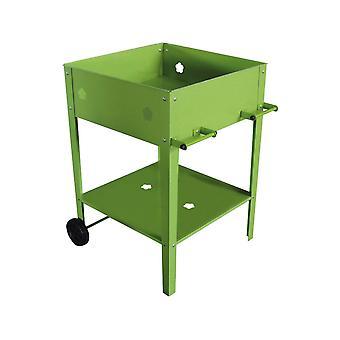 "Mesa para macetas ""Laurier "" - 55 x 55 x 80 cm - Verde"