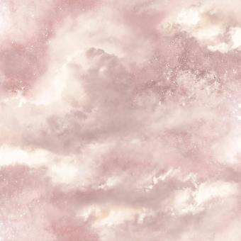 Diamond Galaxy Wallpaper Pink Blush Glitter Sparkly Textured Vinyl Arthouse