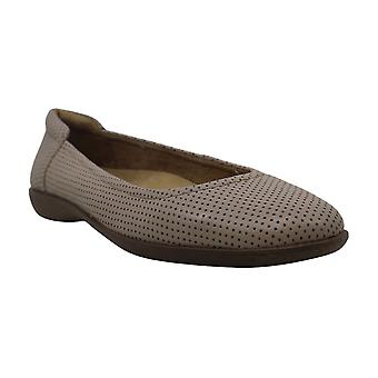Naturalizer Womens Flexy3 Leather Closed Toe Slide Flats