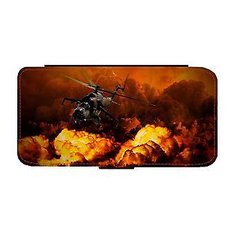 Arméhelikopter i Krig iPhone 12 / iPhone 12 Pro Plånboksfodral