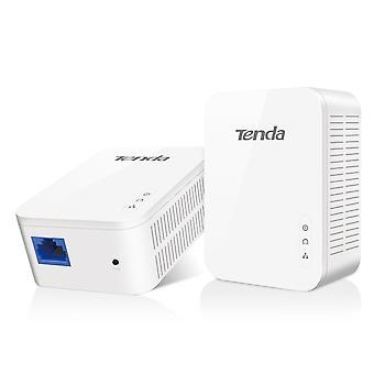 Tenda ph3 1000mbps powerline adapter kit with single port/home plug av2 uk extender, for fast & stab