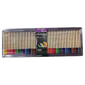 Pennor Färgset 96 pennor