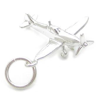 Spitfire Sterling Silber Charm .925 X 1 Spitfires Flugzeuge Flugzeug Charms - 4527
