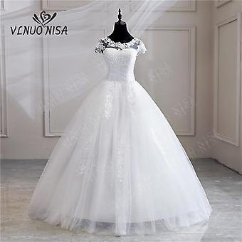 Robe De Mariee Grande Taille neue Hochzeit Kleid Spitze Applikationen Perlen Sweetheart