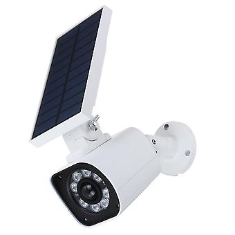 1000LM 5W 8 LED Solar Power LED Light Dummy Security Camera Wall Lamp Motion Sensor IP66