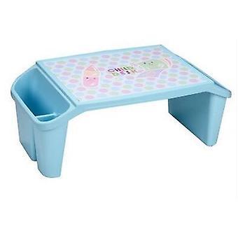 Gyermek's táblázat. Az óvoda műanyag összecsukható asztal és szék szett.
