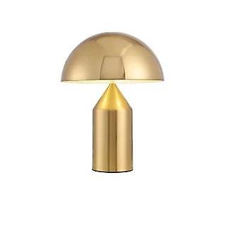 Luz minimalista, lâmpada de mesa de cogumelo criativo da personalidade nórdica