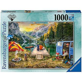 Ravensburger Calm Campside 1000 Piece Jigsaw Puzzle