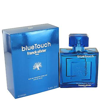 Blue Touch Eau De Toilette Spray By Franck Olivier 3.4 oz Eau De Toilette Spray