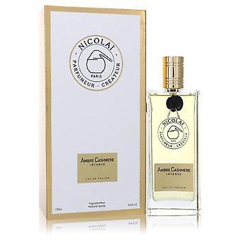 Ambre Cashmere Intense Eau De Parfum Spray (Unisex) By Nicolai 3.4 oz Eau De Parfum Spray