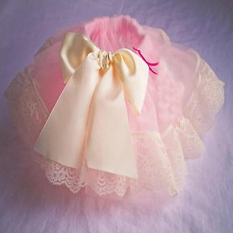 Szalag fodros mini rétegek labda ruha / szoknya a baba